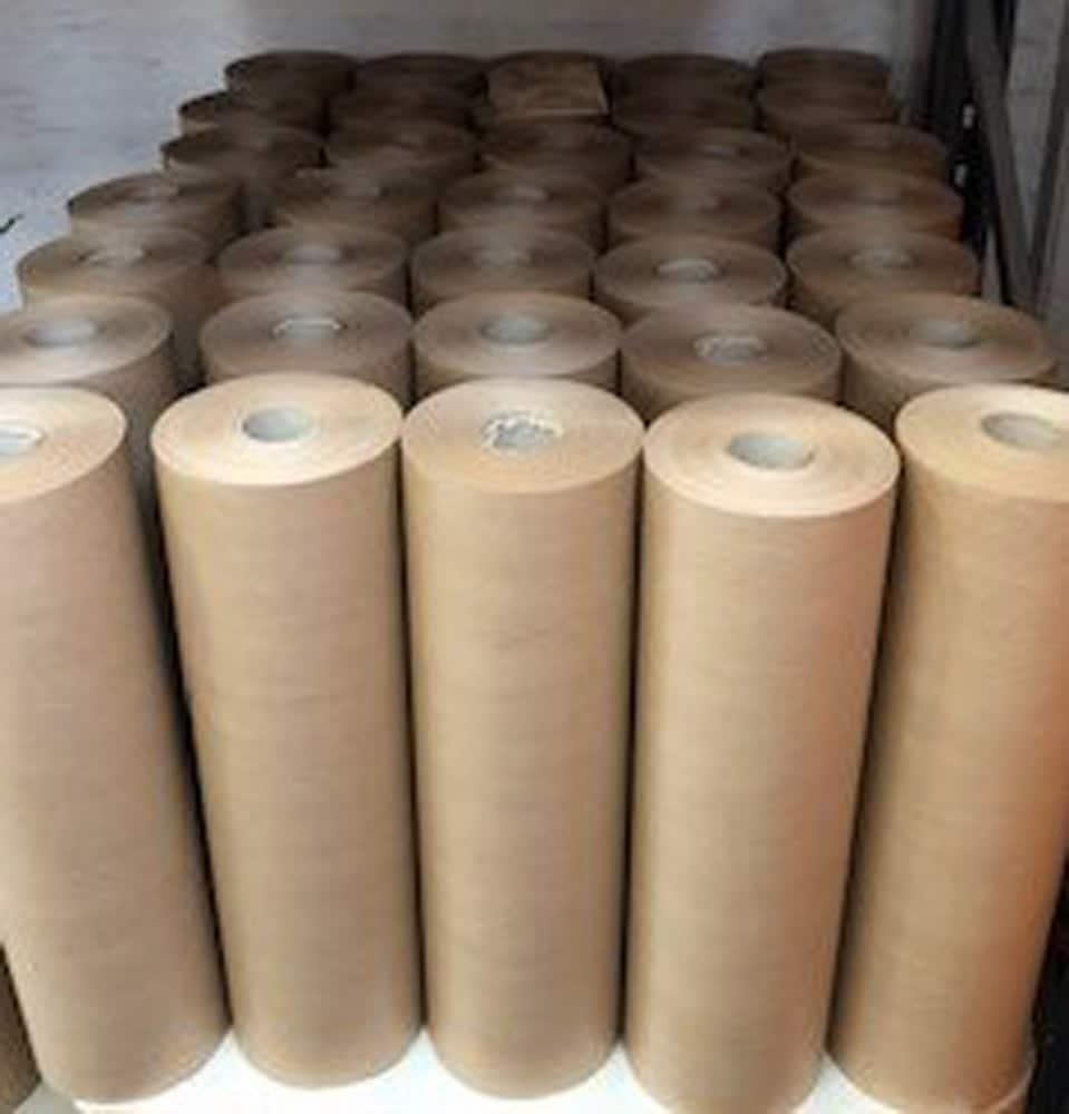 Brun kraftpapir / fidele